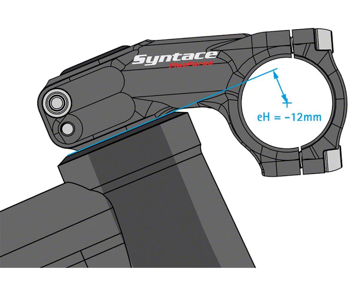 "Syntace Flatforce Stem (31.8mm) (1-1/8"") (77mm Length) (-18°) (-12mm Drop)"