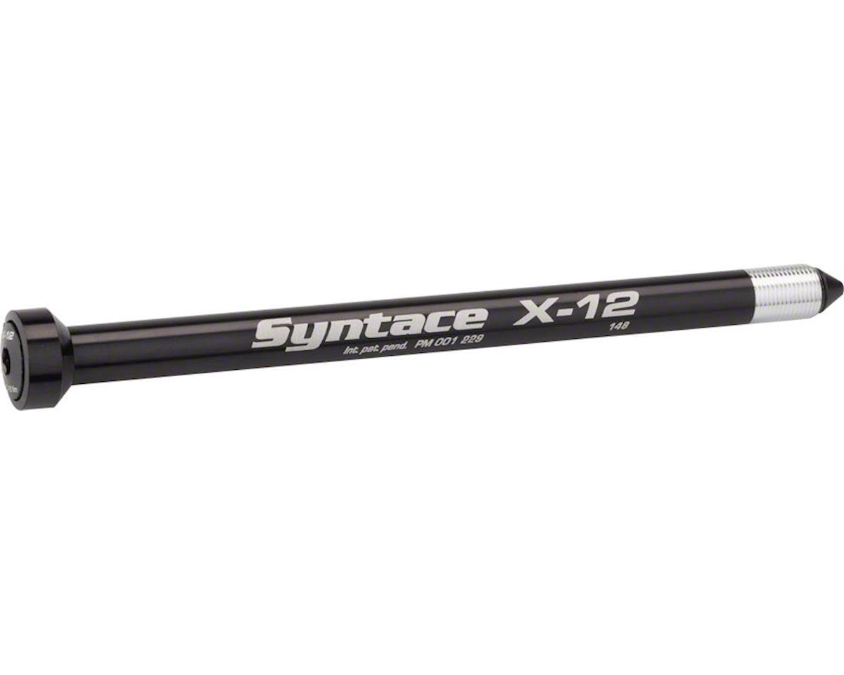 X-12 Rear Thru-Axle (Black) (148 x 12 mm)