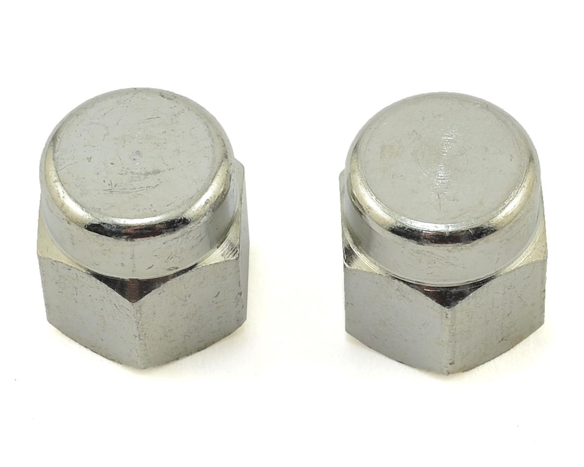 One Pair 10 mm Tacx Axle Nuts for Non-Quick Release Wheels