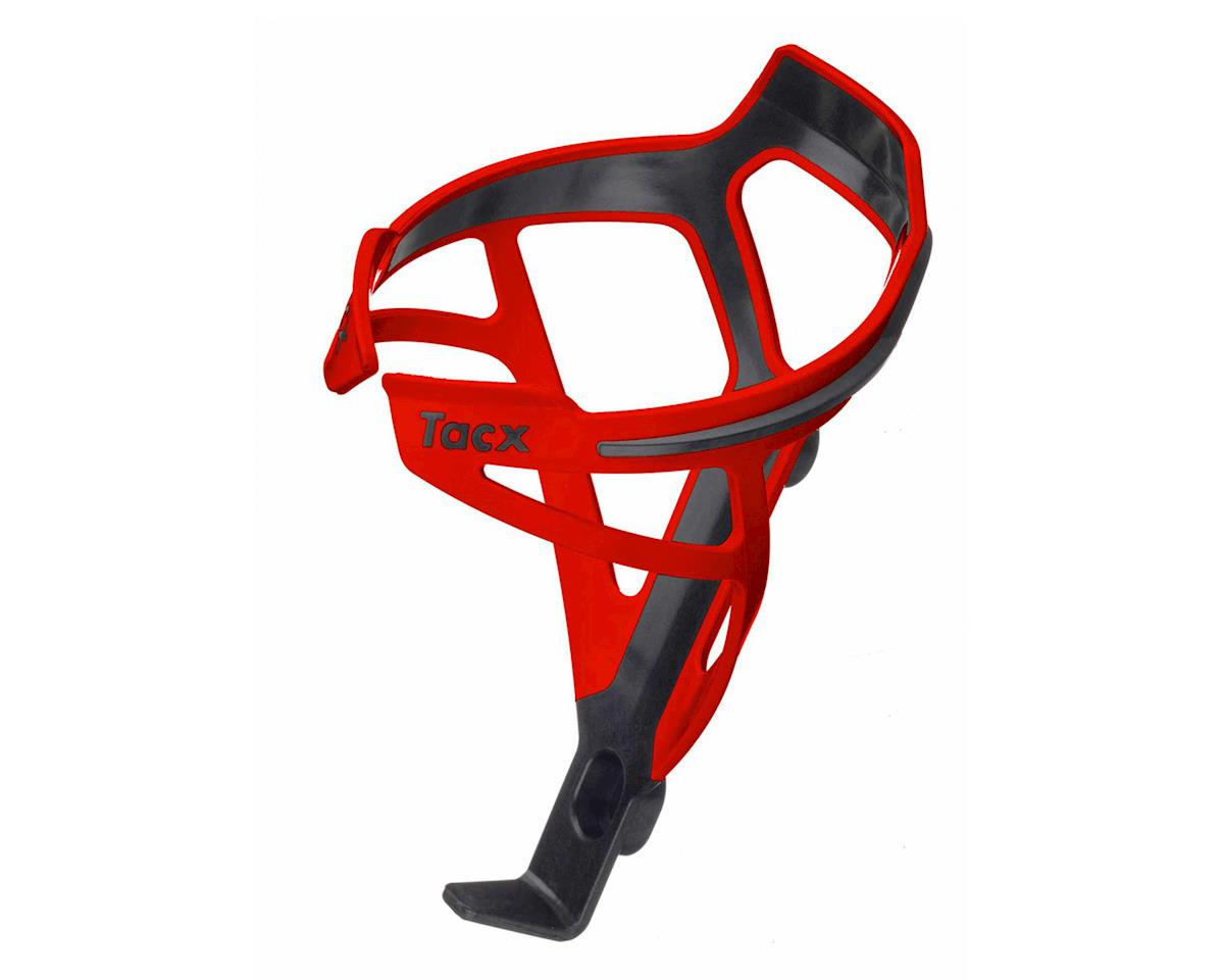 Tacx Deva Bottle-Cage (Black/Red)
