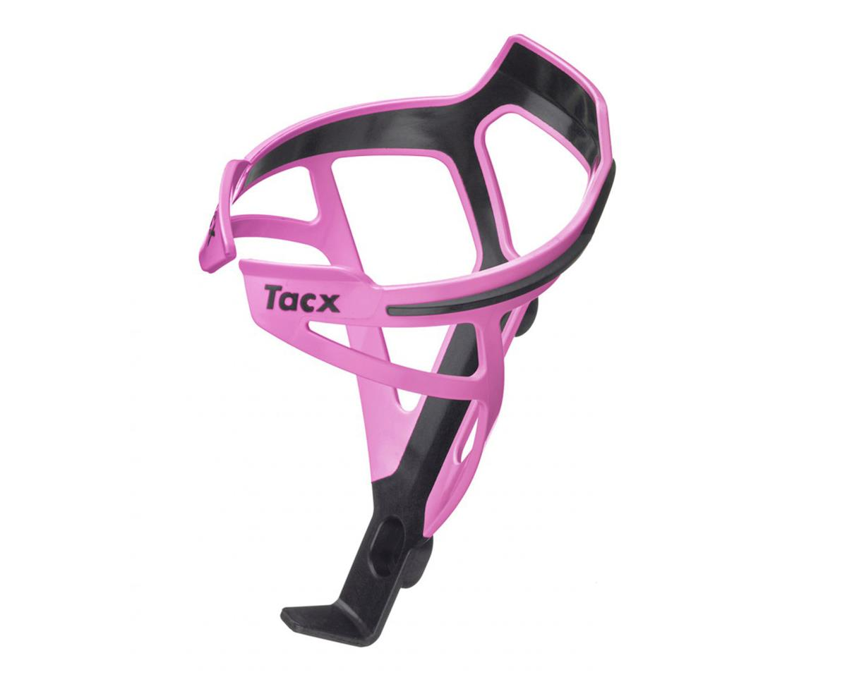Tacx Deva Bottle-Cage (Black/Pink)
