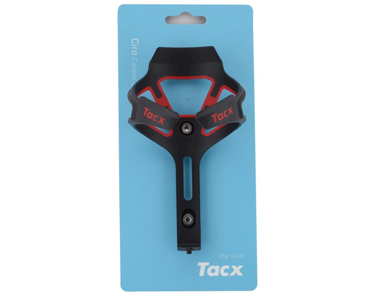 Image 2 for Tacx Ciro Bottle-Cage (Matte Red)