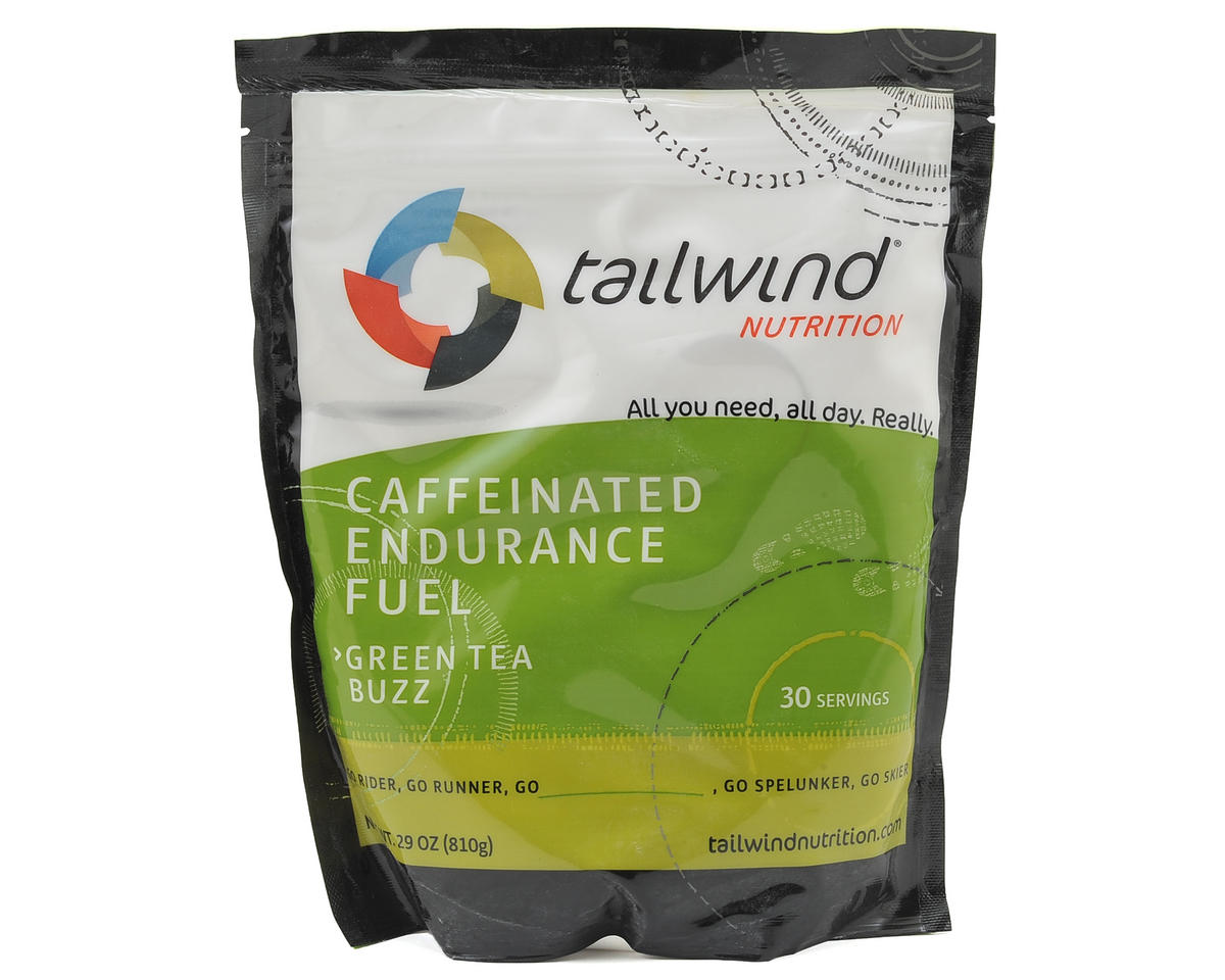 Tailwind Nutrition Green Tea Buzz Cafeinated Endurance Fuel (30 Serving Bag)