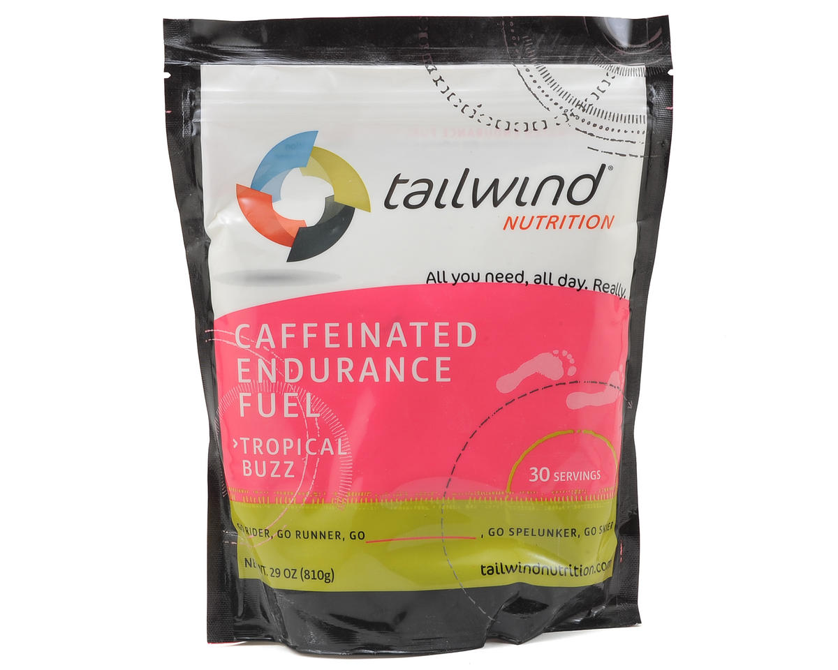 Tailwind Nutrition Tropical Buzz Cafeinated Endurance Fuel (30 Serving Bag)