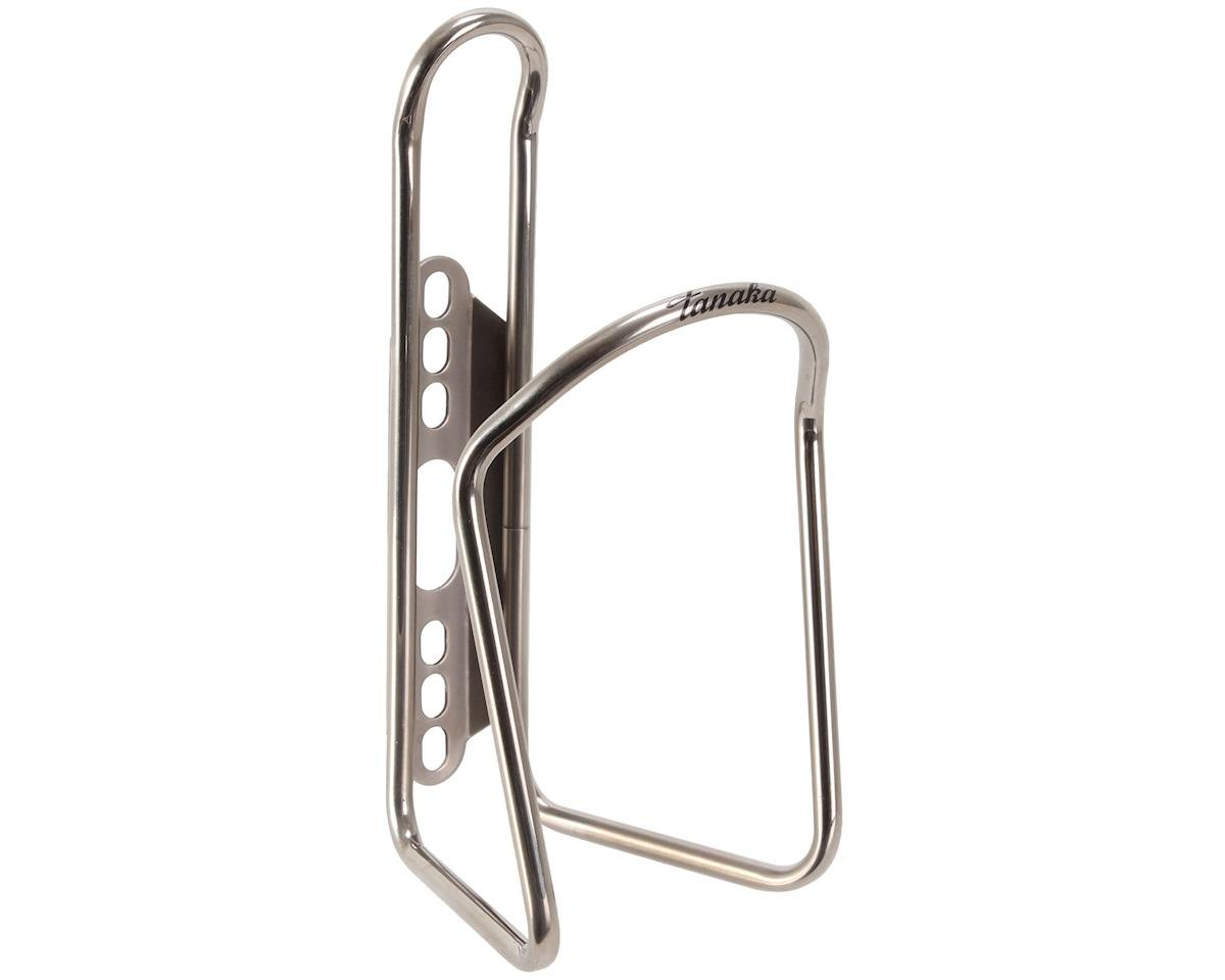Tanaka Stainless steel bottle cage, high-polished