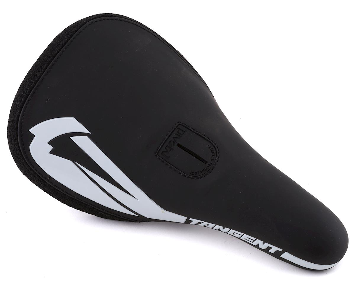 Tangent Carve Pivotal BMX Saddle Black/White