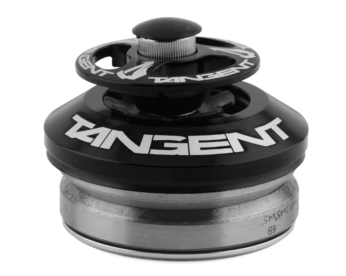 "Tangent Products Tangent Integrated Adaptor Headset 45/45 Degree 1"" to 1-1/8"" Black"
