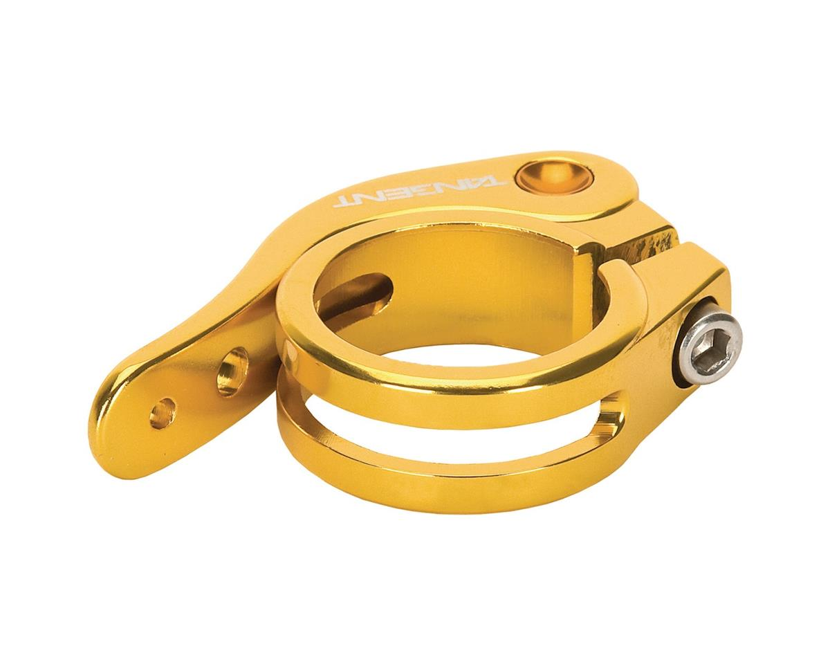 Tangent Quick Release Seat Post Clamp (Gold) (31.8mm)