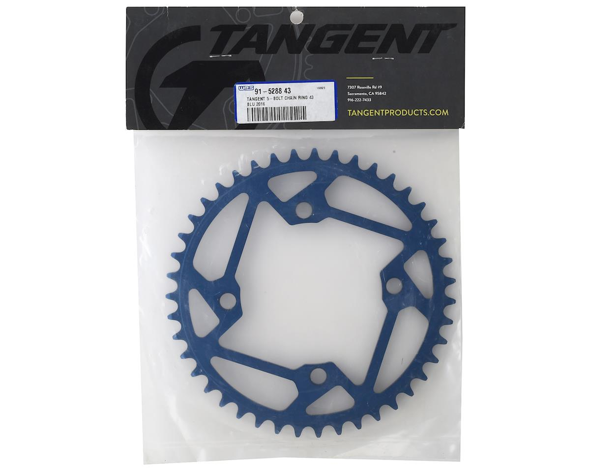 Tangent 5-Bolt Chain Ring (Blue) (2016) (43T)