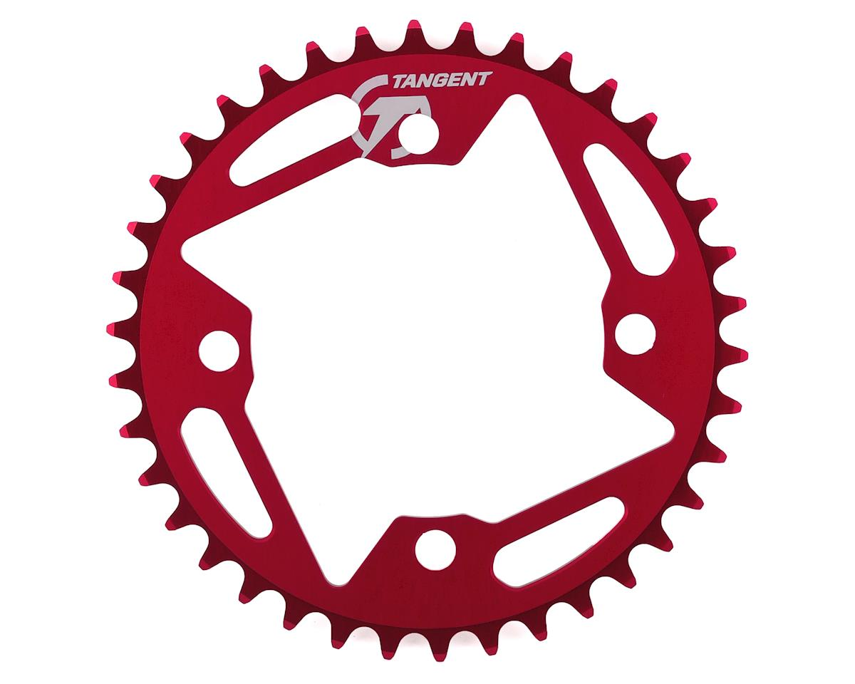 Image 1 for Tangent 4-Bolt Chain Ring (Red) 2016 (38T)
