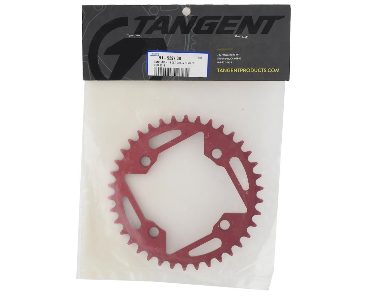 Image 2 for Tangent 4-Bolt Chain Ring (Red) 2016 (38T)