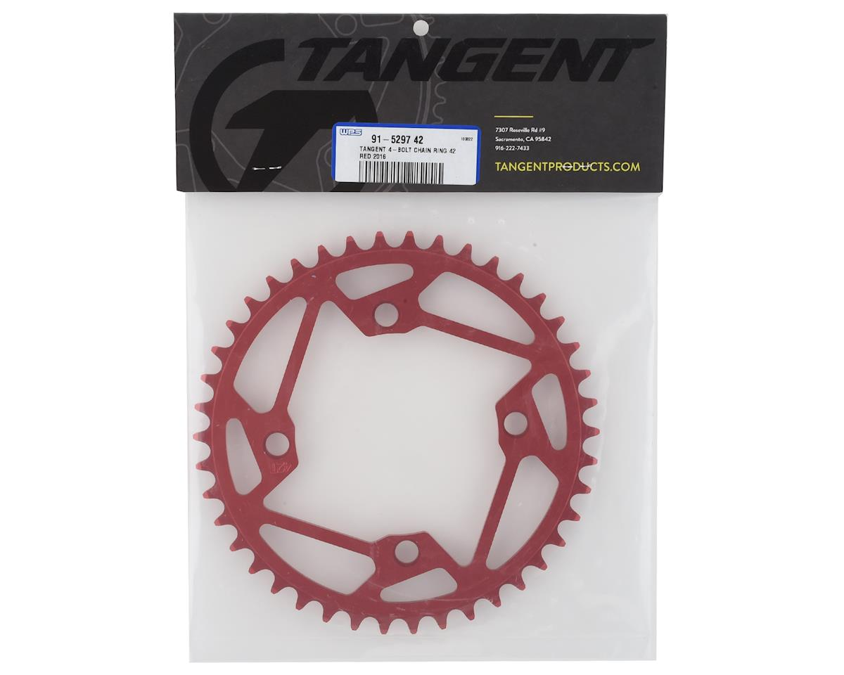 Image 2 for Tangent 4-Bolt Chain Ring (Red) 2016 (42T)