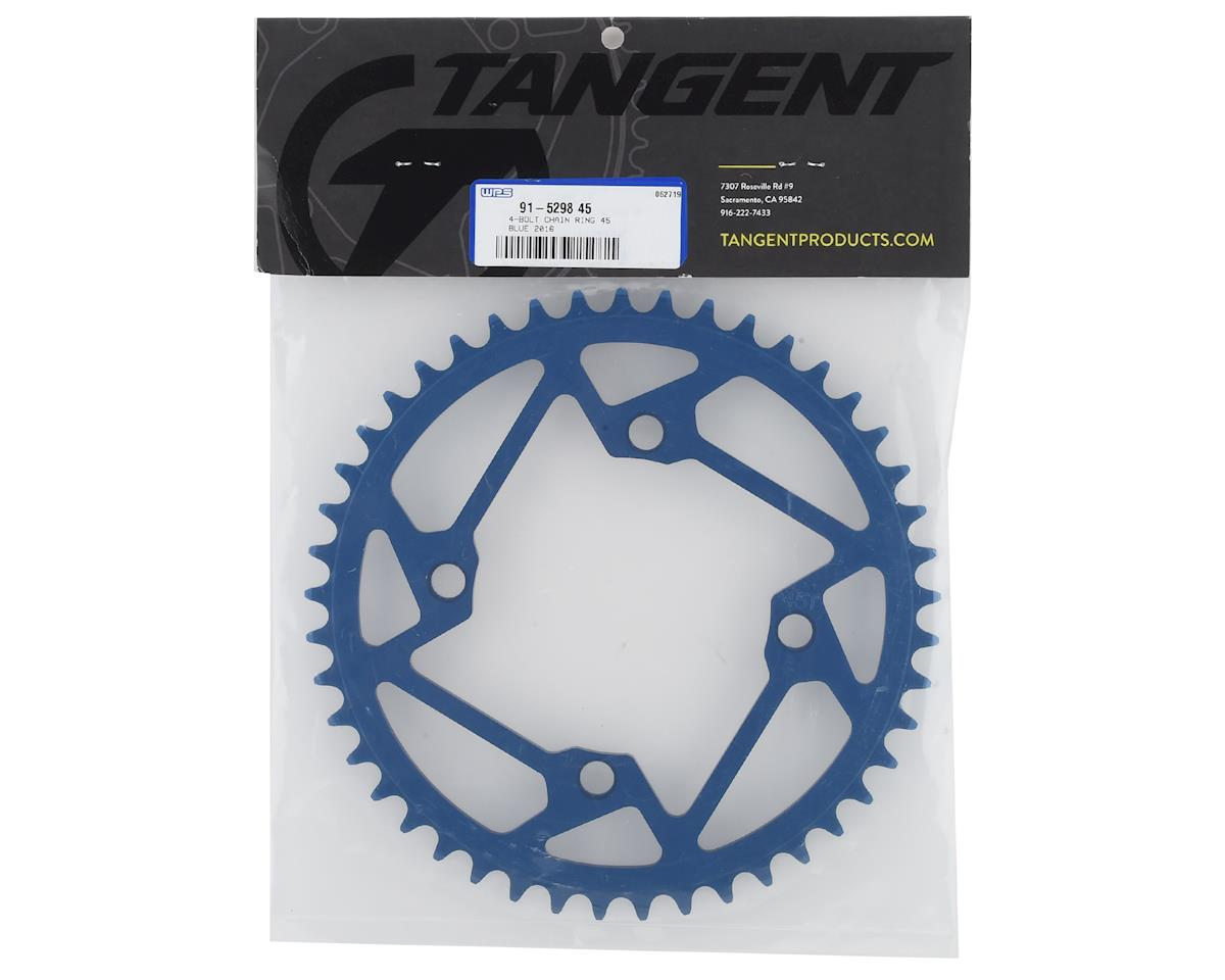 Image 2 for Tangent 4-Bolt Chain Ring (Blue) (2016) (45T)