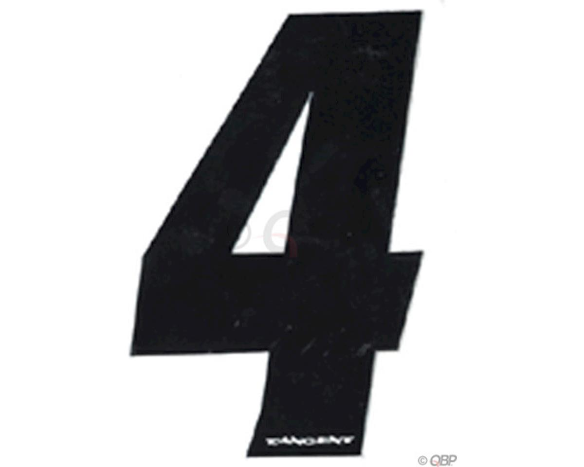"""Tangent Products Tangent 3"""" BMX Number Pack """"4"""" (10-Pack)"""