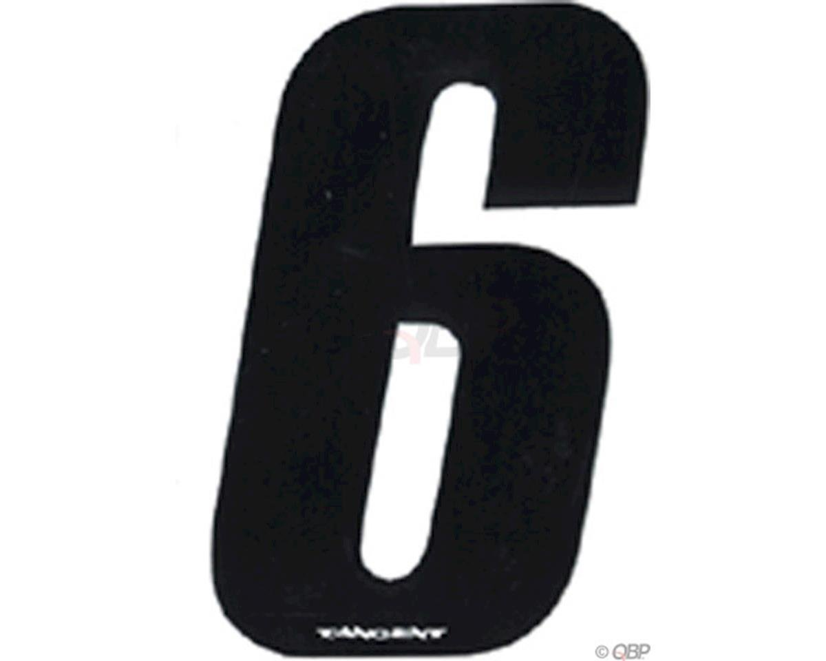 "Tangent Products Tangent 3"" BMX Number Pack ""6"" (10-Pack)"