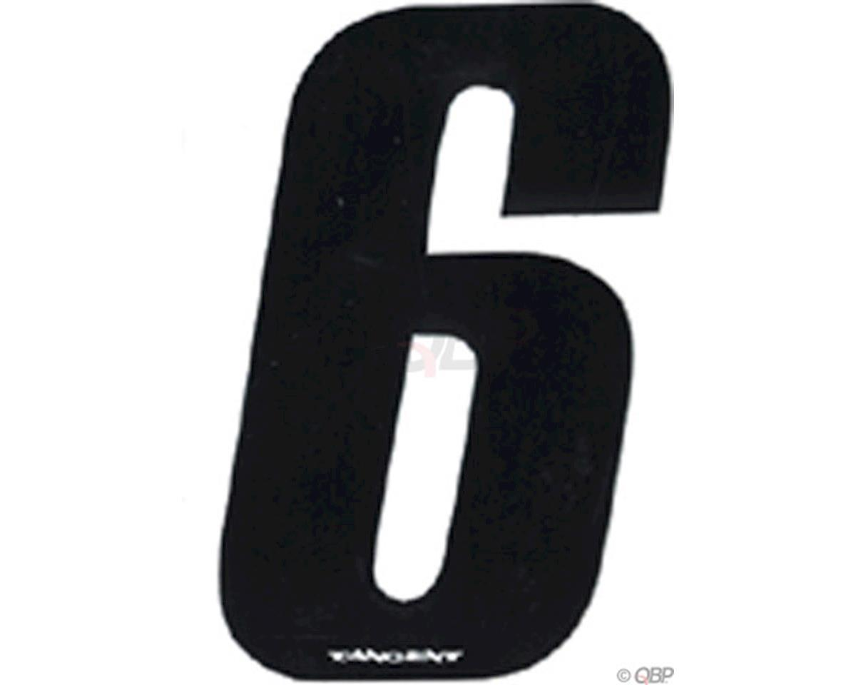 """Tangent Products Tangent 3"""" BMX Number Pack """"6"""" (10-Pack)"""