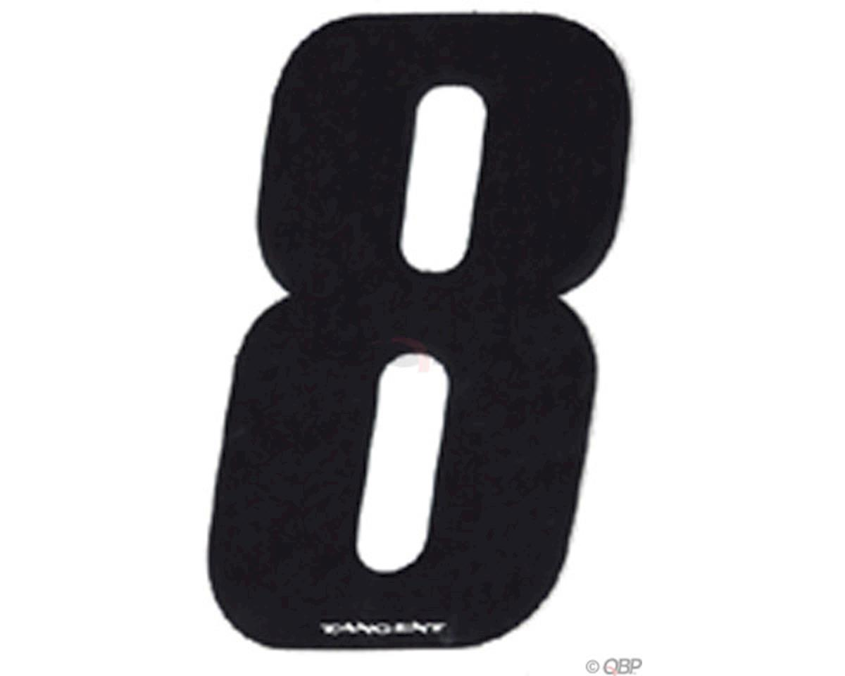 """Tangent Products Tangent 3"""" BMX Number Pack """"8"""" (10-Pack)"""