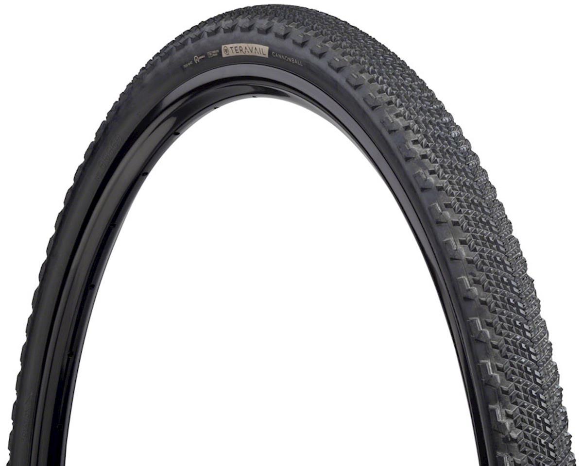 Teravail Cannonball Tire, 700 x 42, Durable, Tubeless-Ready, Black