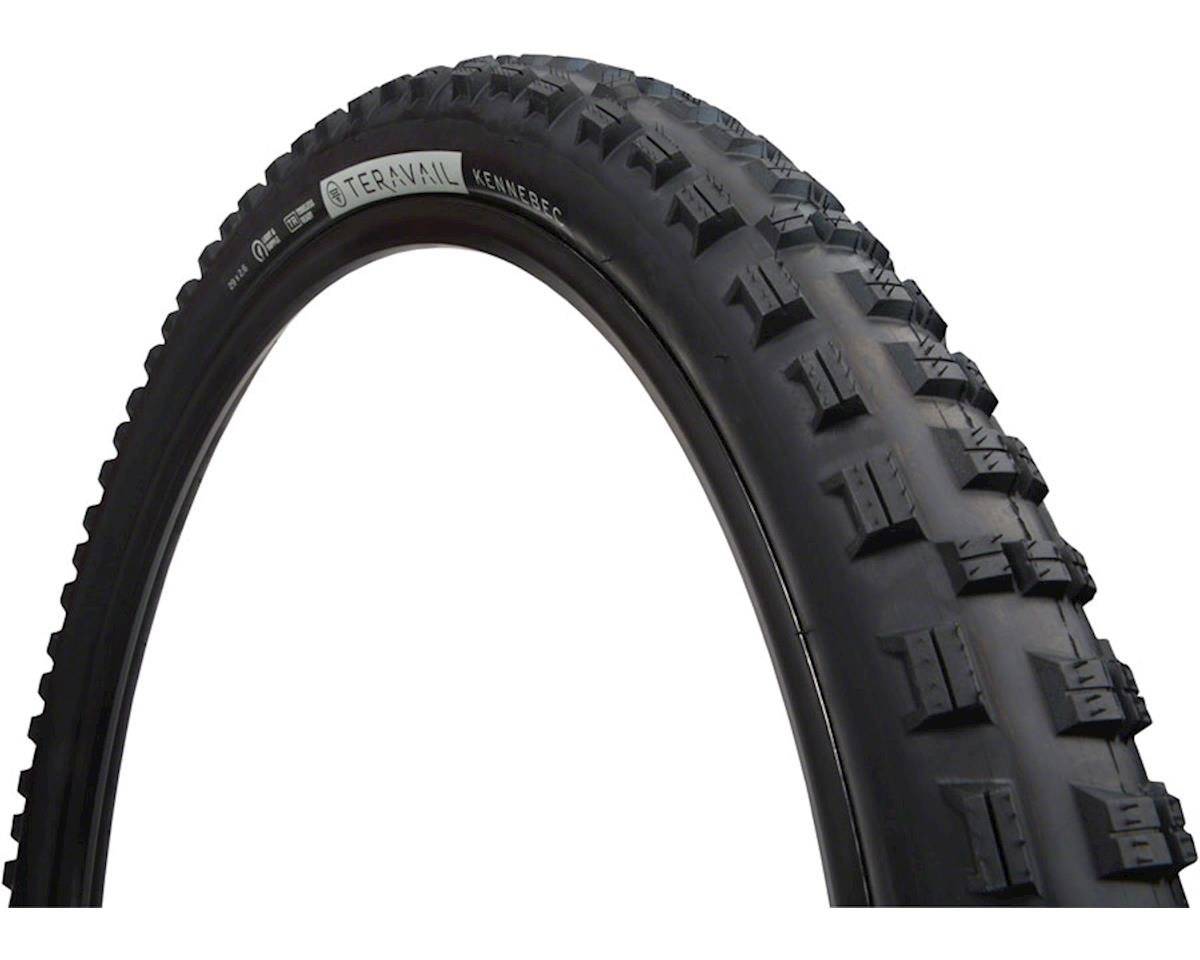"""Teravail Kennebec Tire, 29+ x 2.6"""", Light and Supple, Tubeless-Ready, Black"""