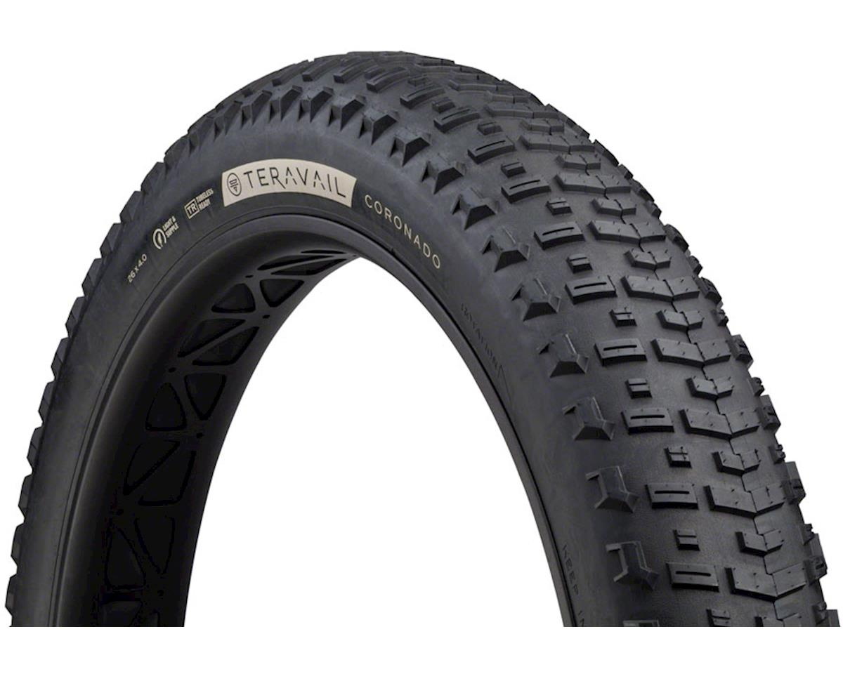 Teravail Coronado Tubeless Tire (Black) (Light and Supple) (26 x 4.0)