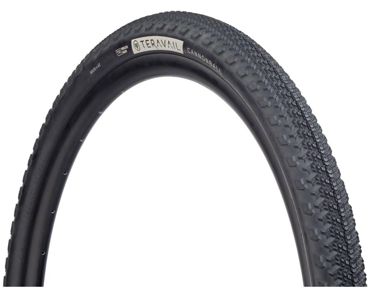 Teravail Cannonball Tubeless Tire (Black) (Durable) (650 x 47)