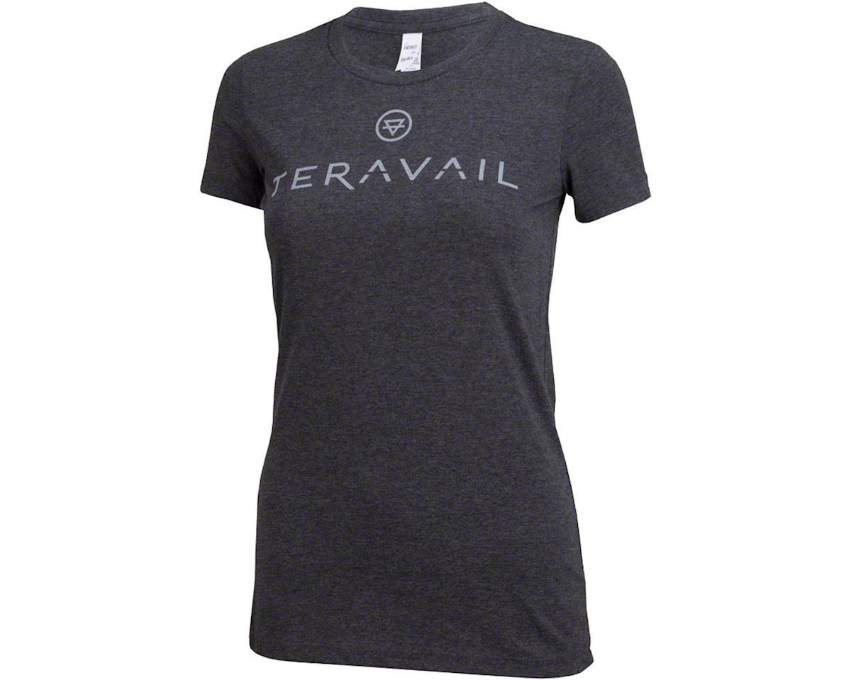 Teravail Logo Women's T-Shirt: Gray LG (L)