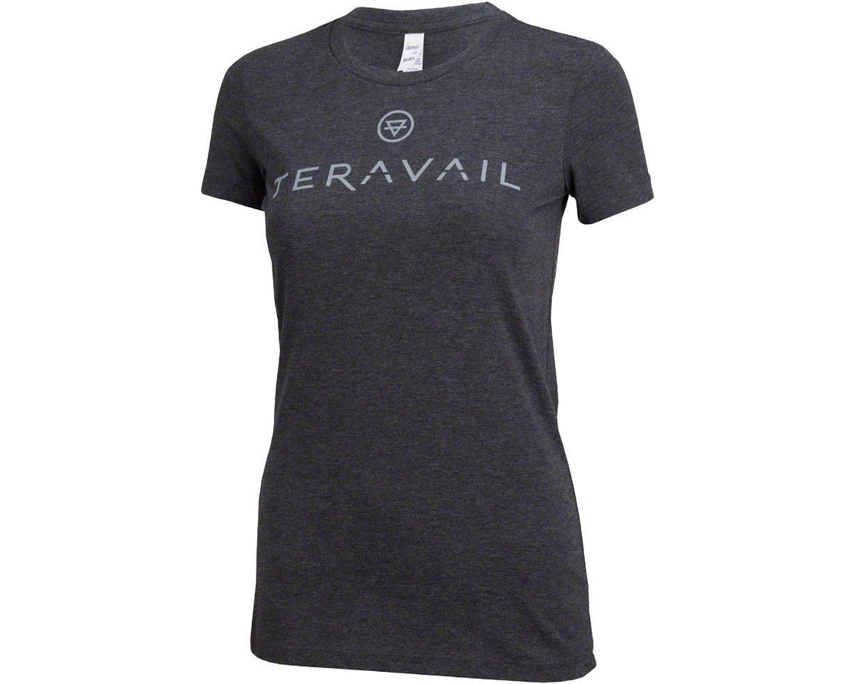 Teravail Logo Women's T-Shirt: Gray LG