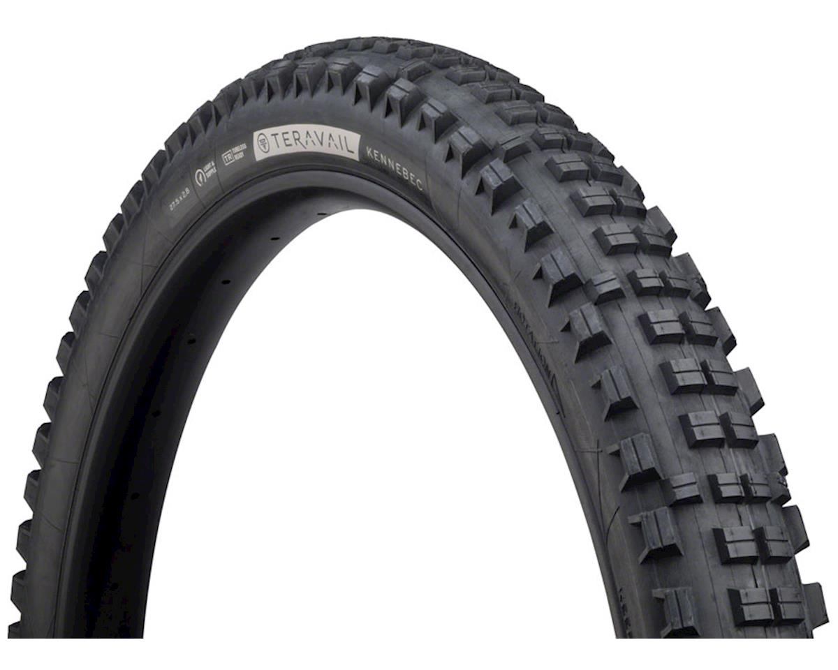 Teravail Kennebec Tubeless Tire (Black) (Light and Supple) (27.5 x 2.8)