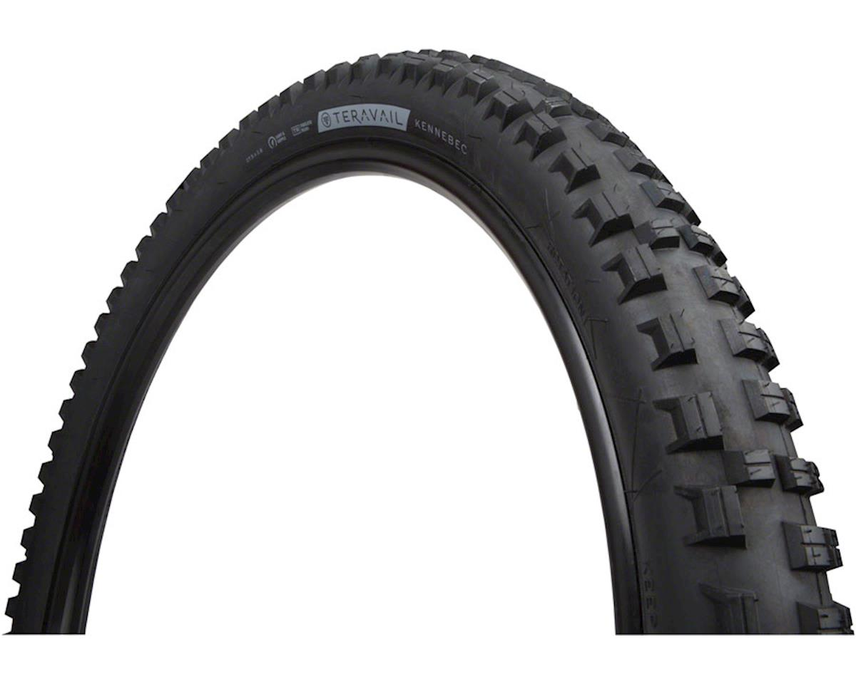 Teravail Kennebec Tubeless Tire (Black) (Light and Supple) (27.5 x 2.80)