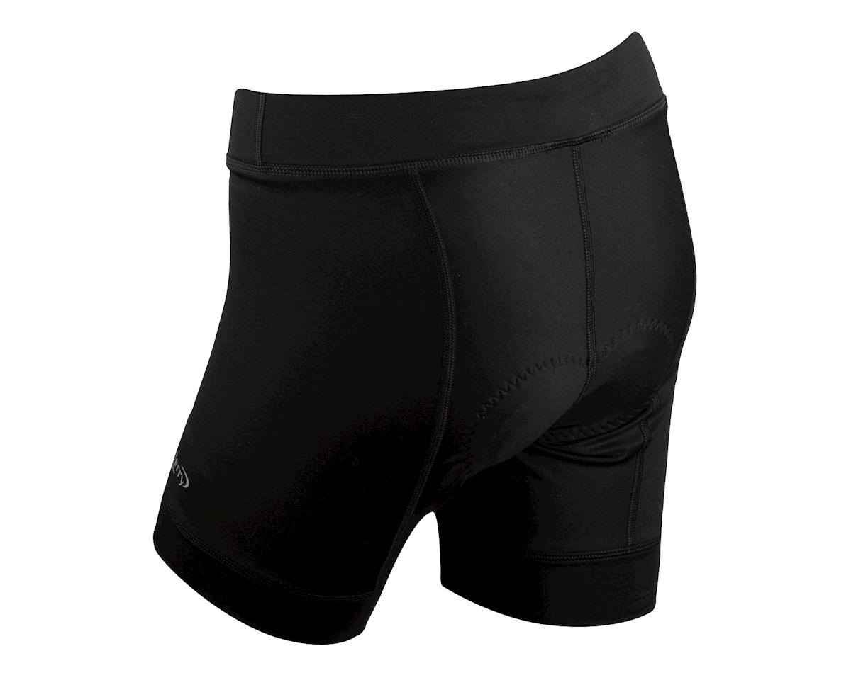 Terry Women's Actif Shorts (Black)