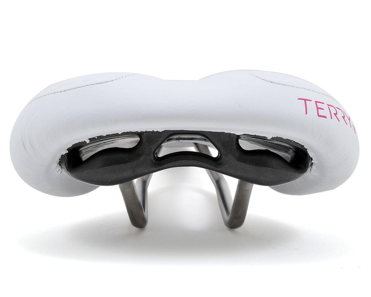 Terry Butterfly Ti Saddle (White)