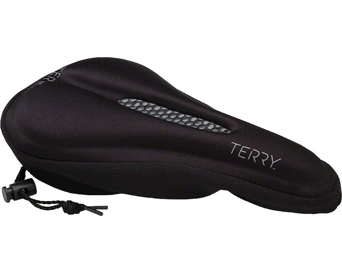 Terry Gel Saddle Cover (Black) | relatedproducts
