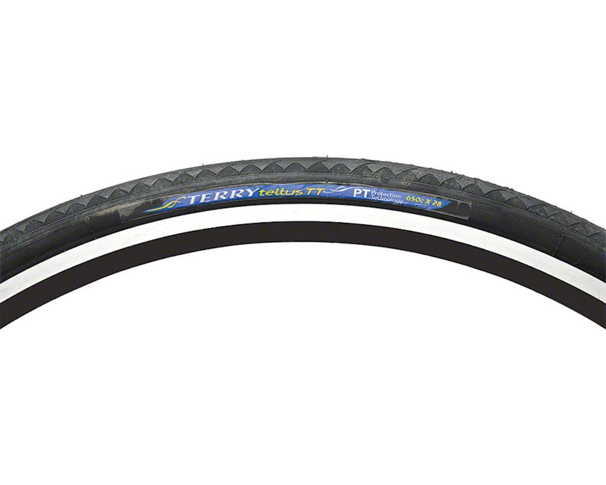 Terry Tellus Tire - 650c x 28, Clincher, Wire, Black, 66tpi