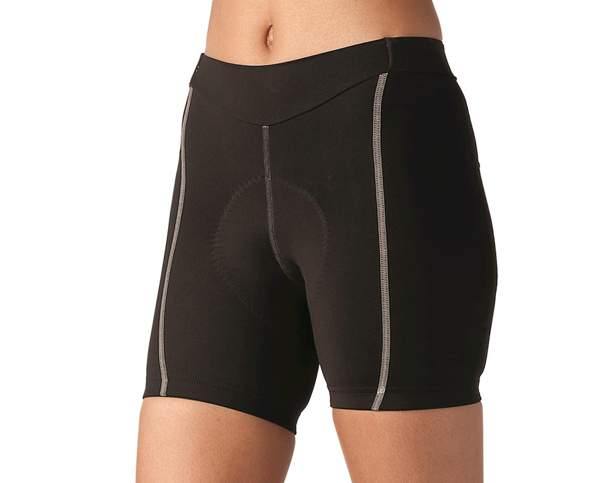 Image 1 for Terry Women's Bella Short Short (Black/Grey) (XL)