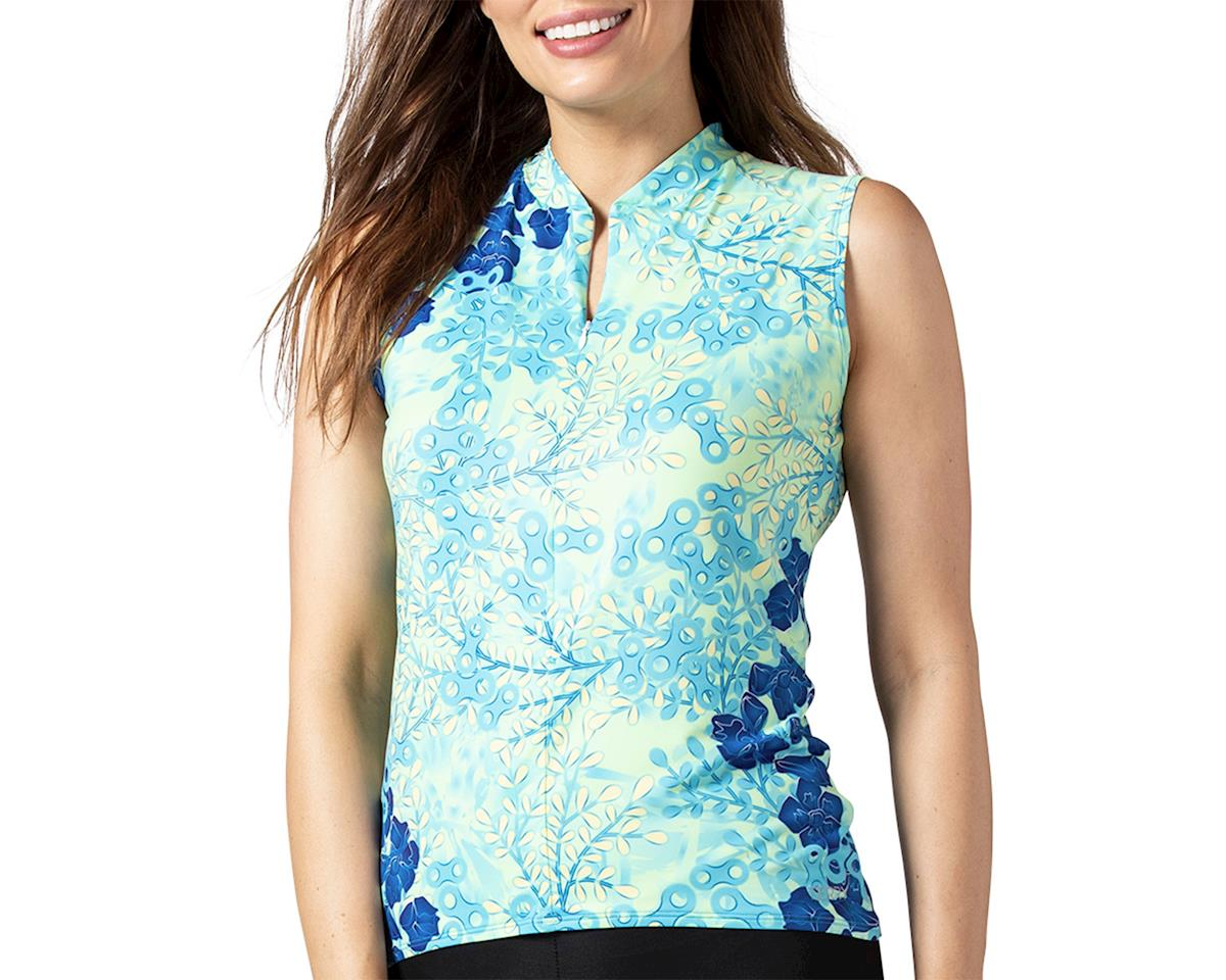 Image 1 for Terry Soleil Sleeveless Jersey (Hydrange/Multi) (L)