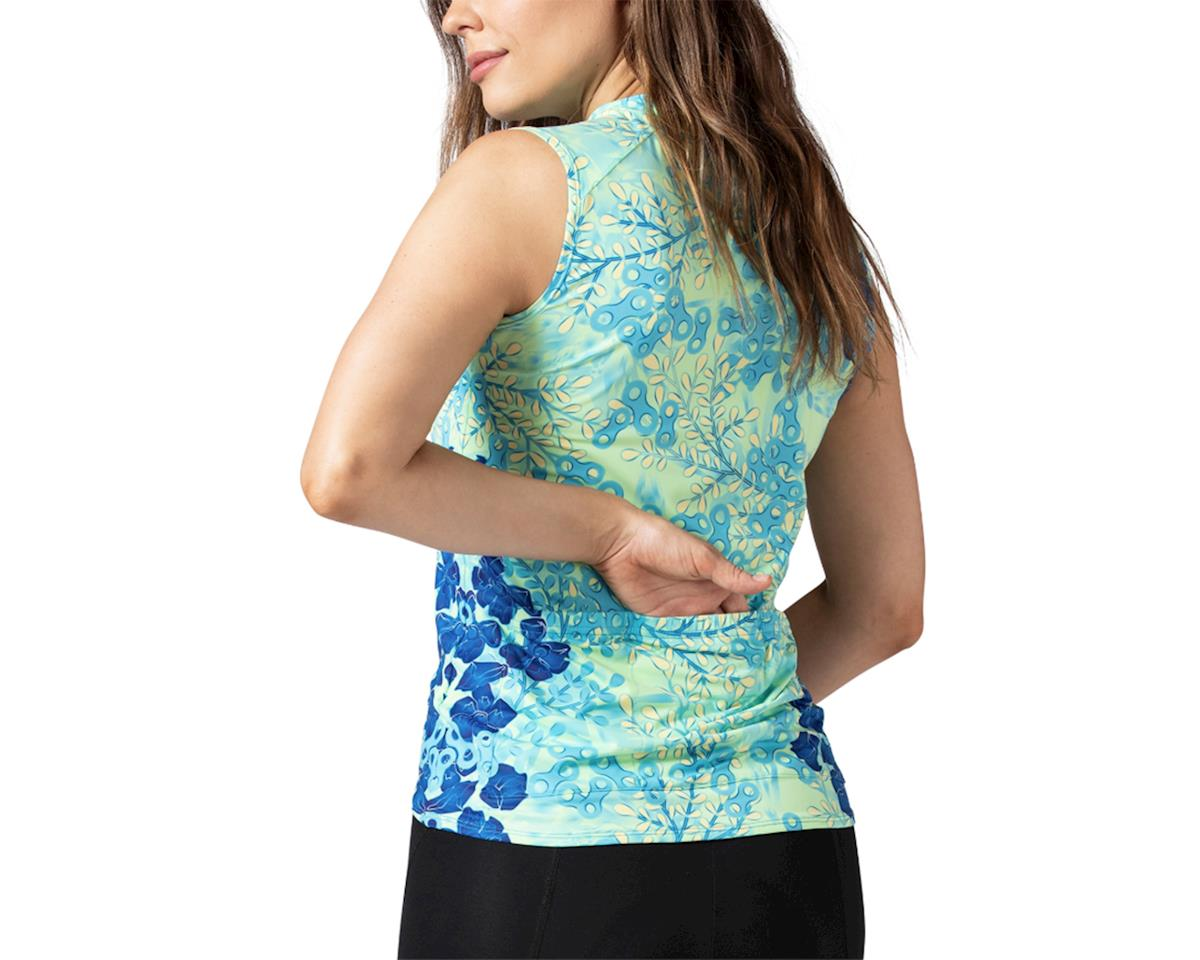 Image 2 for Terry Soleil Sleeveless Jersey (Hydrange/Multi) (L)