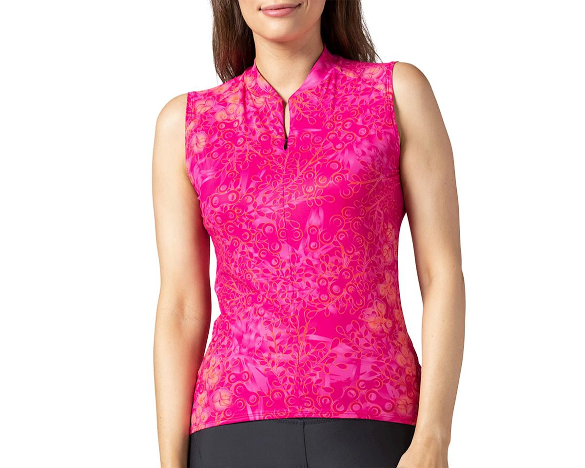 Terry Soleil Sleeveless Jersey (Hydrange/Beetroot) (XL)