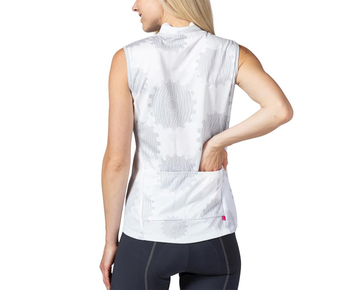 Image 2 for Terry Breakaway Mesh Sleeveless Jersey (Retrogear/White) (S)