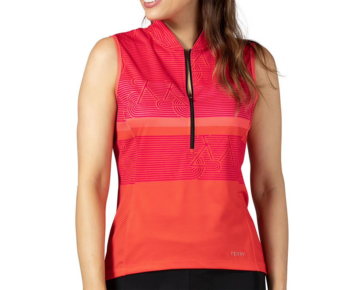 Terry Breakaway Mesh Sleeveless Jersey (Zoom/Fire) (M)