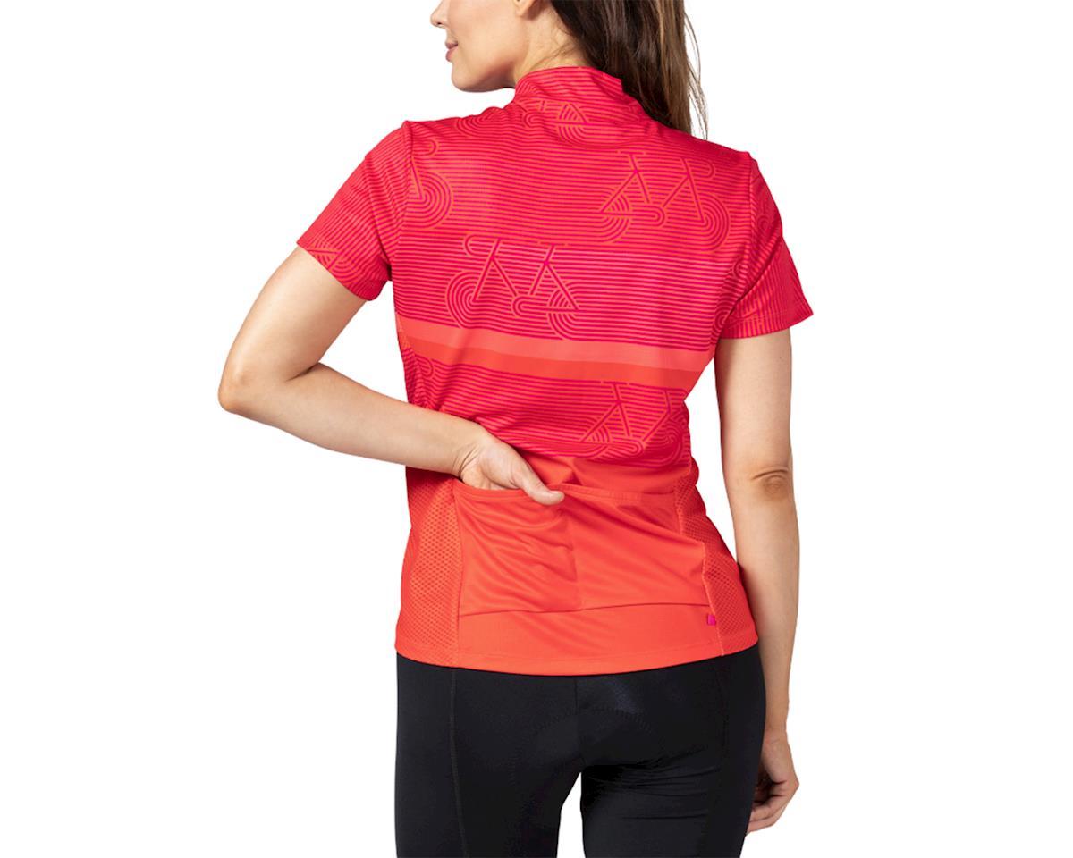 Image 2 for Terry Breakaway Mesh Short Sleeve Jersey (Zoom/Fire) (XS)