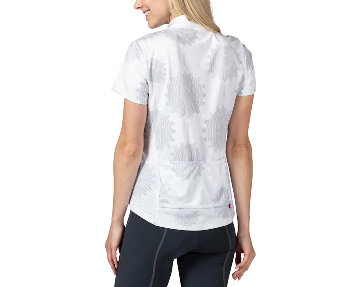 Image 2 for Terry Breakaway Mesh Short Sleeve Jersey (Retrogear/White) (L)