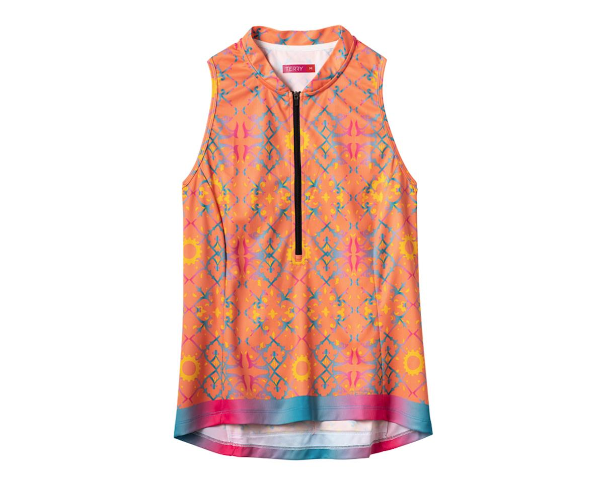 Terry Sun Goddess Sleeveless Jersey (Lattice) (S)