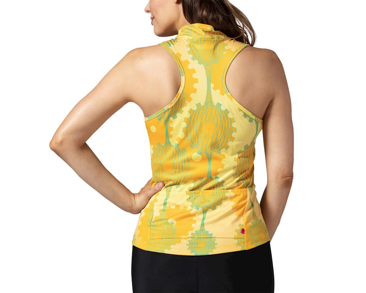 Image 2 for Terry Sun Goddess Sleeveless Jersey (Retrogear/Yellow) (M)
