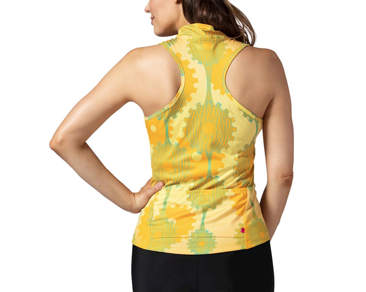 Image 2 for Terry Sun Goddess Sleeveless Jersey (Retrogear/Yellow) (L)