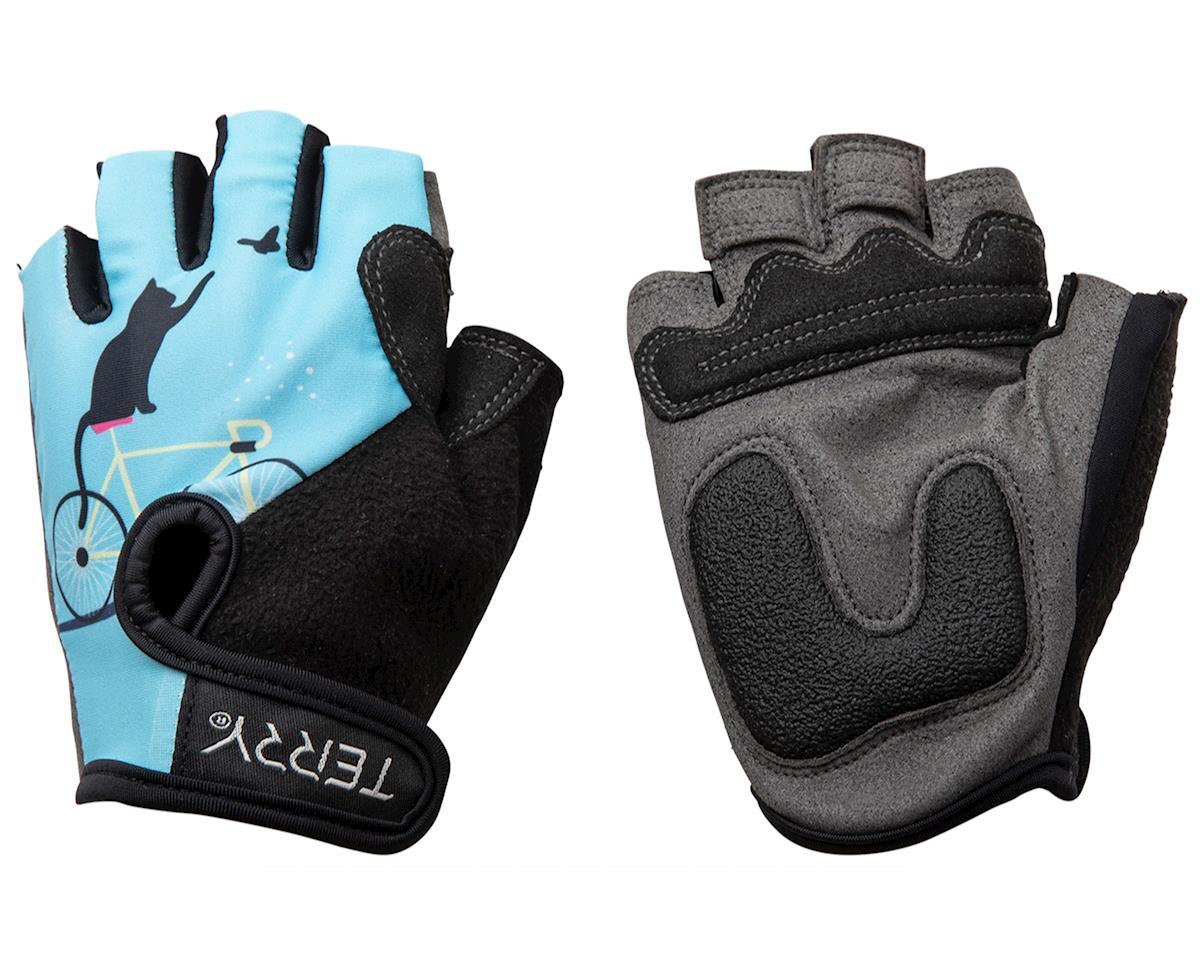 Terry T-Gloves LTD  (Cats/Blue) (L)