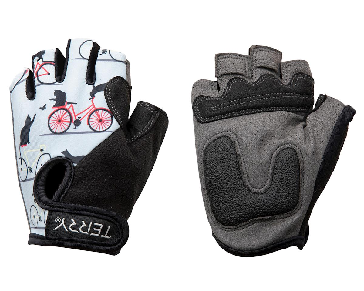 Terry T-Gloves LTD (Cats/Gray) (L)