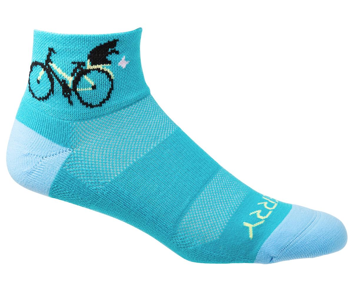 Terry Air Stream Socks (Cats) (L/XL)