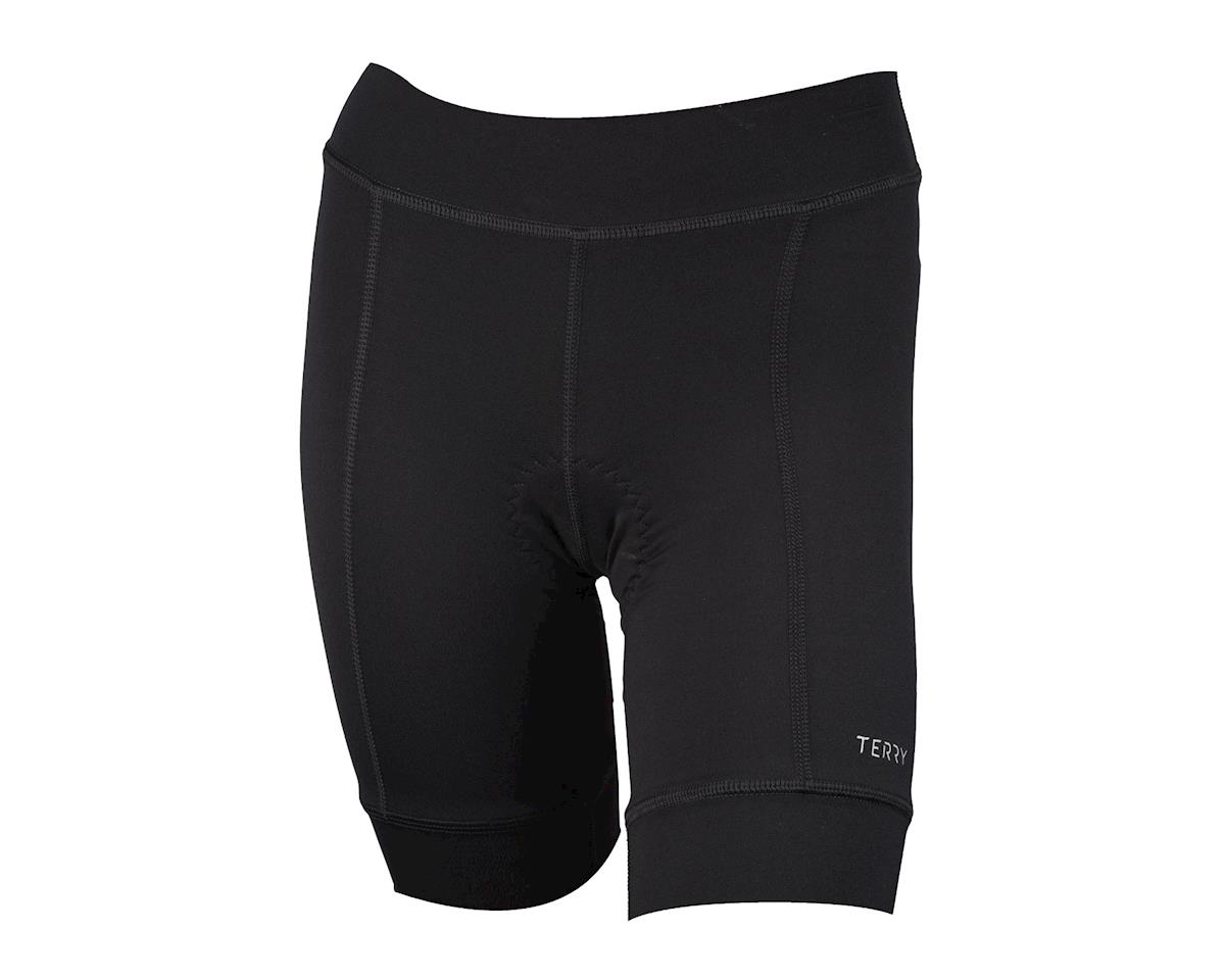Image 2 for Terry Women's Actif Cycling Shorts (Black)