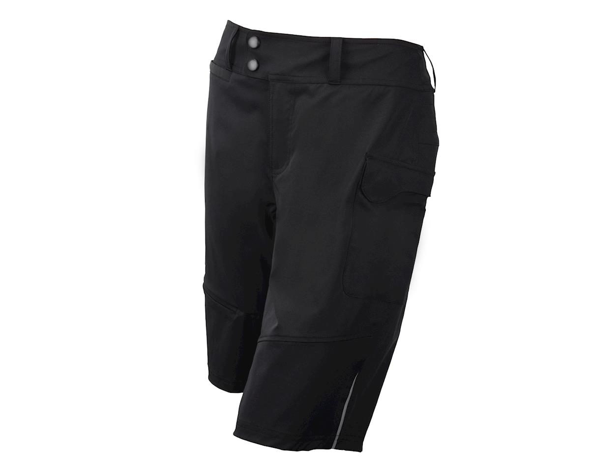 Image 1 for Terry Women's Metro Shorts Relaxed (Black)