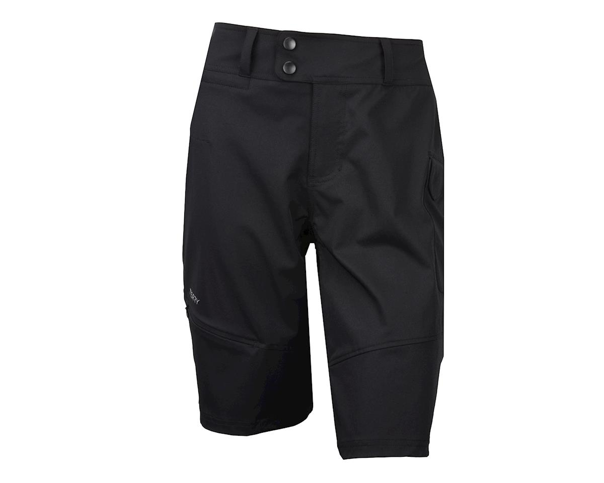 Image 2 for Terry Women's Metro Shorts Relaxed (Black)